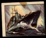 1950 Topps Freedoms War #172   Cruiser  Front Thumbnail