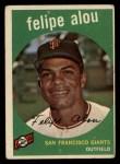 1959 Topps #102  Felipe Alou  Front Thumbnail