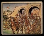 1938 Gum Inc. Horrors of War #79   Japan's Triumphal Entry into Nanking Front Thumbnail