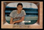 1955 Bowman #27  Preston Ward  Front Thumbnail