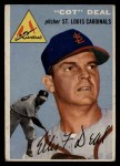 1954 Topps #192  Cot Deal  Front Thumbnail