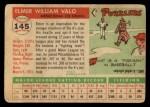1955 Topps #145  Elmer Valo  Back Thumbnail