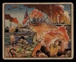 1938 Gum Inc. Horrors of War #239   Rebels Bomb Alicante Firing British Ship Front Thumbnail