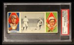 1912 T202 Hassan   -  Bris Lord / Rube Oldring Scoring From Second  Front Thumbnail