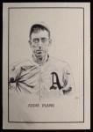 1950 Callahan Hall of Fame #60  Eddie Plank  Front Thumbnail