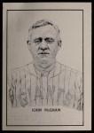 1950 Callahan Hall of Fame #55  John McGraw  Front Thumbnail