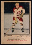 1951 Parkhurst #8  Paul Masnick  Front Thumbnail