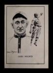 1950 Callahan Hall of Fame #74  Honus Wagner  Front Thumbnail