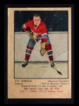1951 Parkhurst #7  Tom Johnson  Front Thumbnail
