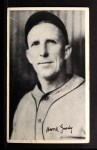1936 National Chicle Fine Pen Premiums #34  Hank Gowdy  Front Thumbnail