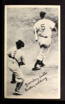 1936 National Chicle Fine Pen Premiums #109  H. Greenberg / B. Dickey  Front Thumbnail
