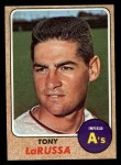 1968 Topps #571  Tony La Russa  Front Thumbnail