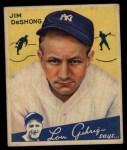 1934 Goudey #96  Jim DeShong  Front Thumbnail