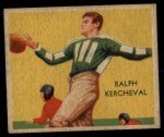 1935 National Chicle #19  Ralph Kercheval   Front Thumbnail