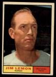 1961 Topps #450  Jim Lemon  Front Thumbnail