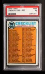 1973 Topps #588   Checklist 5 Front Thumbnail