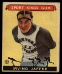 1933 Goudey Sport Kings #34  Irving Jaffee   Front Thumbnail