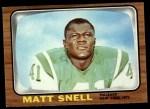 1966 Topps #102  Matt Snell  Front Thumbnail