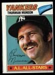 1977 Topps #170  Thurman Munson  Front Thumbnail