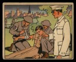 1941 Gum Inc. Uncle Sam Home Defense #107   Medical Corps Front Thumbnail