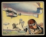 1941 Gum Inc. Uncle Sam Home Defense #90   Marine Sky Troops Front Thumbnail