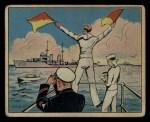 1941 Gum Inc. Uncle Sam Home Defense #14   Semaphore Signals Front Thumbnail
