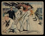 1941 Gum Inc. Uncle Sam Home Defense #21   Fire At Sea Front Thumbnail