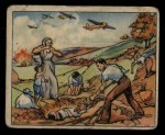 1938 Gum Inc. Horrors of War #276   Spanish Raid Refugees Bury Their Dead Front Thumbnail