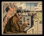 1941 Gum Inc. Uncle Sam Home Defense #110   Amateur Radio Station Volunteers Front Thumbnail