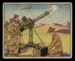 1941 Gum Inc. Uncle Sam Home Defense #66   Machine Gun Practice Front Thumbnail