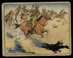 1941 Gum Inc. Uncle Sam Home Defense #54   Cavalry Charge Front Thumbnail