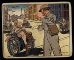 1941 Gum Inc. Uncle Sam Home Defense #101   Messengers Front Thumbnail