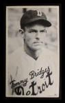 1936 Goudey Wide Pen  Tommy Bridges   Front Thumbnail