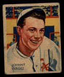 1935 Diamond Stars #21 PHL Johnny Vergez   Front Thumbnail