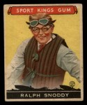 1933 Goudey Sport Kings #25  Ralph Snoddy   Front Thumbnail