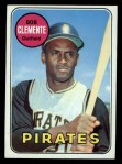 1969 Topps #50  Roberto Clemente  Front Thumbnail