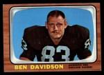 1966 Topps #108  Ben Davidson  Front Thumbnail