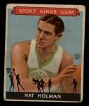 1933 Goudey Sport Kings #3  Nat Holman   Front Thumbnail