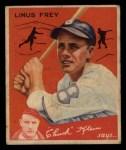 1934 Goudey #89  Lonnie Frey  Front Thumbnail