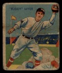 1935 Diamond Stars #4  Buddy Myer   Front Thumbnail