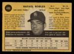 1971 O-Pee-Chee #408  Rafael Robles  Back Thumbnail