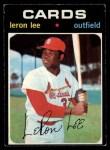 1971 O-Pee-Chee #521  Leron Lee  Front Thumbnail