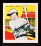 1933 Tattoo Orbit Reprints #34  Rogers Hornsby  Front Thumbnail