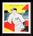 1933 Tattoo Orbit Reprint #51  Charlie Root  Front Thumbnail