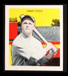 1933 Tattoo Orbit Reprint #20  Jimmie Foxx  Front Thumbnail