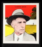 1933 Tattoo Orbit Reprint #44  Connie Mack  Front Thumbnail