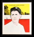 1933 Tattoo Orbit Reprint #22  Charlie Grimm  Front Thumbnail