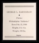 1933 Tattoo Orbit Reprint #17  George Earnshaw  Back Thumbnail