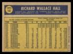 1970 O-Pee-Chee #182  Dick Hall  Back Thumbnail