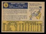 1970 O-Pee-Chee #290  Rod Carew  Back Thumbnail